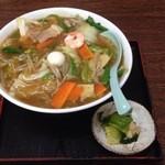 福家食堂 - 広東麺 ¥750