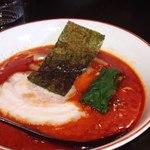 百歩ラーメン - DAの菊ちゃんが食べた赤百歩 800円