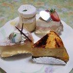 パティスリー ジ アース カフェ - ジ・アースカフェのケーキ