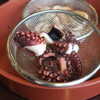 Jigokumushikouboukannawa - 料理写真:タコ茹で上がり
