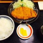 46306030 - ロースカツ定食