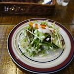 うるしカレー - サラダ