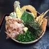 Daichinoudon - 料理写真:冷野菜天ぶっかけ
