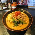 46307137 - 地獄の担担麺 プロフェッショナル編(160g、麺固め、野菜)
