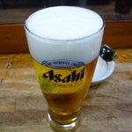 明石屋 - ☆生ビール泡あわクリーミー☆
