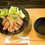 一乃屋 - ステーキ丼 850円(税別)