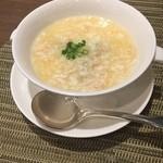 chuugokuryouritouri - 中華風茶碗蒸し タラバ蟹餡かけ