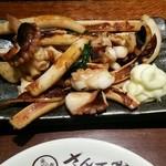 戸田亘のお好み焼 さんて寛 - タコとイカ焼き