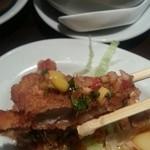 青龍門 - 鳥唐揚げの甘辛