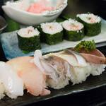 魚の上よし - 2016.1 食べ放題(寿司)
