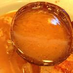 46314709 - 2016.1.9  紅富士大麺豚Wスープ
