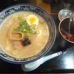 46315662 - 煮干鶏白湯らぁめん700円(2016.1.3)