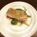 Sauge - 若鶏もも肉の塩焼きと焼野菜