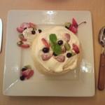 Cafe 下町の時計台 - プルーツパンケーキ