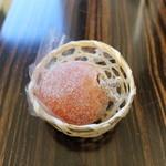 御菓子司 風外 - 塩の道柿 栗