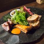 クードクール - 前菜の盛り合わせ