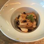 和酒和食の坂 - 煮穴子と山芋豆富