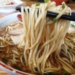 太華園 - 麺はこんな感じ 緩めが尾道らしくて美味しい