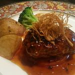 ブライトンキッチン - ハンバーグステーキ(テリヤキワサビソース)