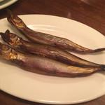 Hamachan55 - 手作り燻製料理 ししゃも(¥350)