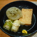 四季旬菜 花音 - 料理写真:おでん3種16.1