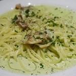 トラットリア テンポ ドーロ - ゴルゴンゾーラチーズと有機野菜のクリームソース 1,860円