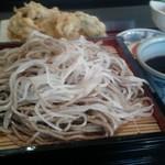 そば和食なごみ - かき天ぷらせいろ