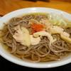 一寸亭 - 料理写真:冷たい肉そば(普通)