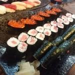 美佐古寿司 - イクラ、鉄火、納豆巻♪