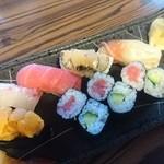 美佐古寿司 - 鮑有ります