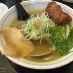 麺や蔵人 - 白蛤+叉焼トッピング