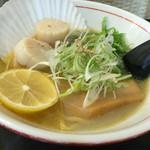 麺や蔵人 - ホタテラーメン