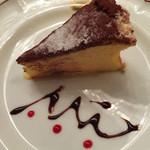ピッツェリア・サバティーニ - ホワイトチョコのガトーショコラ