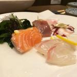 かんてきや - 鮮魚5種のカルパッチョ