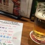 バルデリコ - ビール旨いなぁ