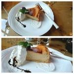 味珈豆結 - ベークドチーズケーキ♪濃厚ヾ(〃^∇^)ノ