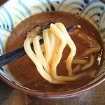 つけ麺 ジンベエ - 濃厚つけ麺(並)750円に煮たまご(100円)トッピング