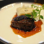 カリフォルニア テーブル - 通常利用外...阿波の和牛フィレ肉の炙り焼き トリュフマッシュ トリュフソース