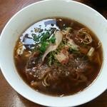 きたろうお好み焼 - スープ焼きそば(かき入り):950円