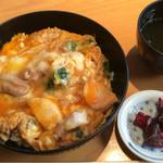 鳥ふじ - 親子丼