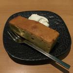 CAFE OPAL - パンプキンバターケーキです。