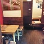 居酒屋わたり - テーブル席&掘りごたつ席(1F)