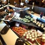 ブッフェレストラン「ブリッジ」 - デザート台@【2016.1】新春和洋の彩スイーツブッフェ