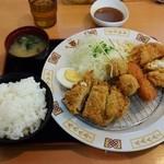 フライ工房 妙樹 - 季節ご膳600円