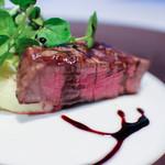 ザ・カワブン・ナゴヤ - 国産牛フィレ肉のグリル 熟成バルサミコソース +700円☆