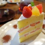 46339587 - ショートケーキ