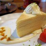 ハナあかり - 料理写真:ミルクレープ