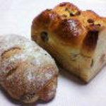 ブレッド50 - いちぢくパン、ちぎりレーズン