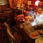 Polaris -  年末30日は恒例のハーブおでんたちのビュッフェ¥2,000と振る舞い酒