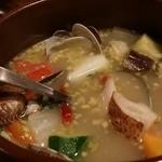 46344705 - 【H28.1.2】アサリと野菜のココット。